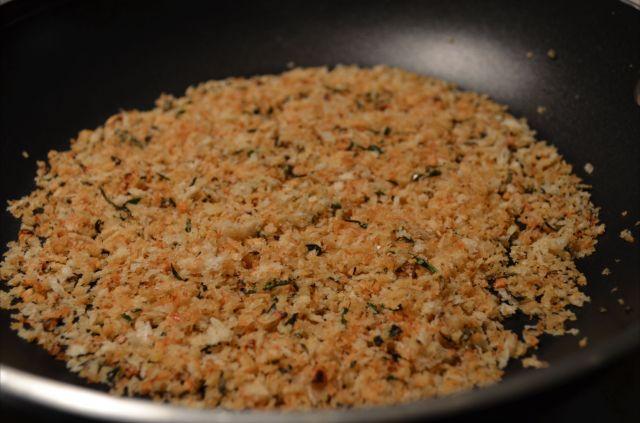 Toasted herb infused Panko