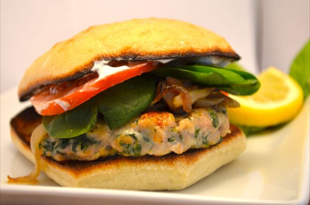 Chicken Tzatziki Burger