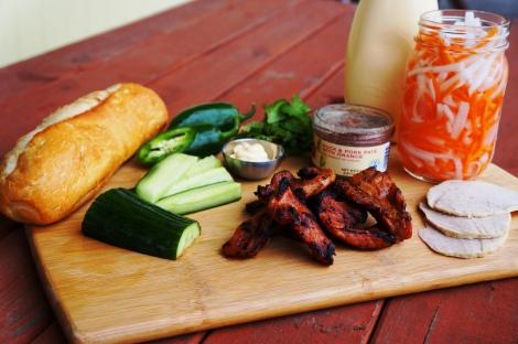 Lemongrass Pork Marinade: (Adapted from Rasa Malaysia):