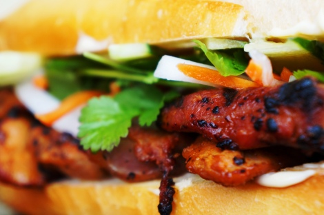 Grilled Lemongrass Pork Banh Mi