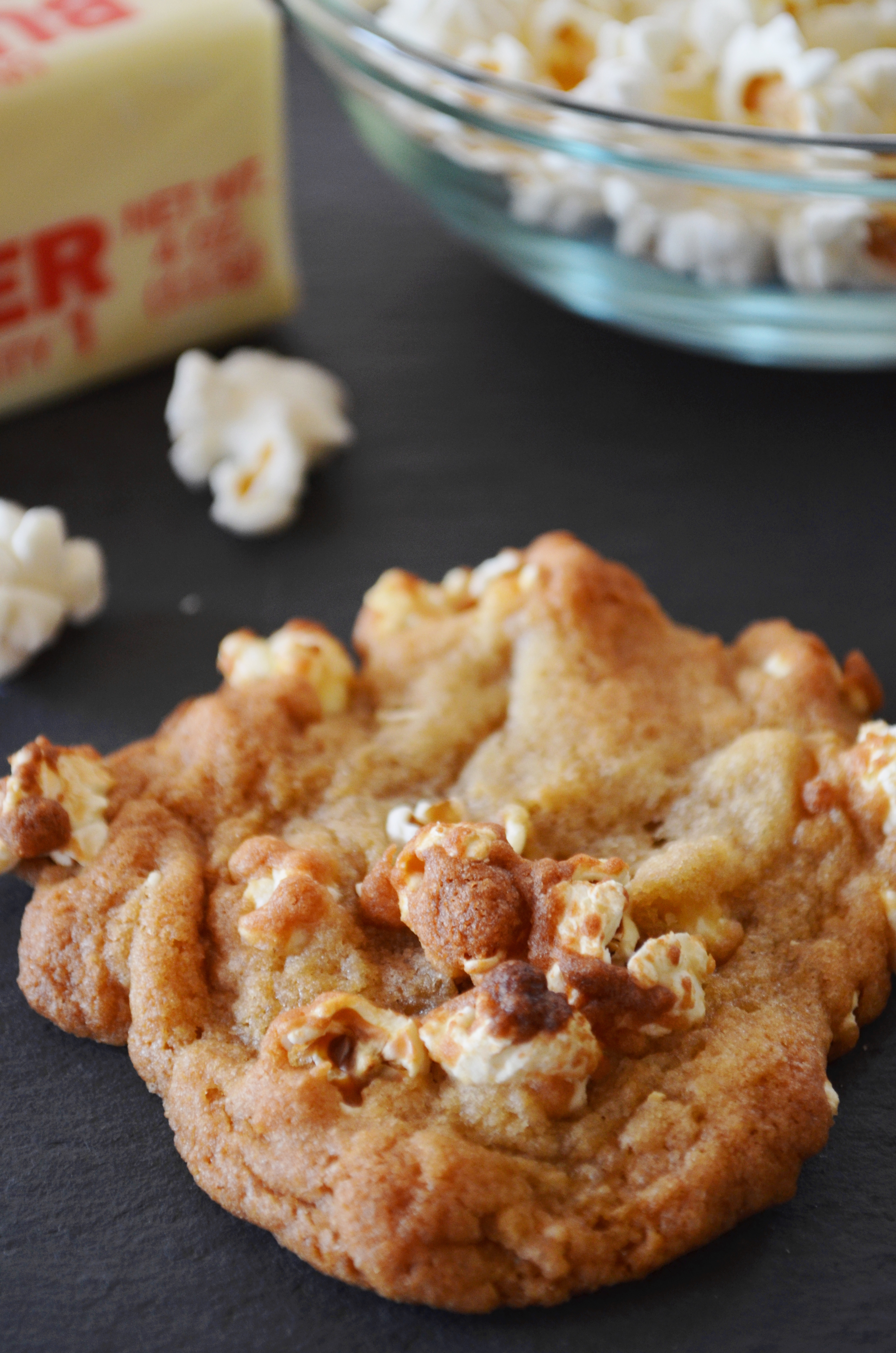 Cookbook Diary: Buttered Popcorn Cookies from Smitten Kitchen by Katie ...