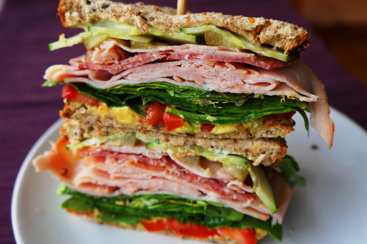 Spring's Bounty Sandwich